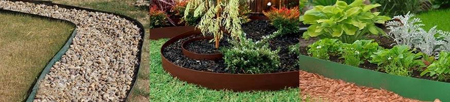 Бордюрная лента для дорожек и газона