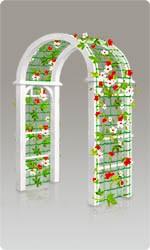 Сетка для арки