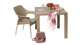 Новинка! Пластиковые столы и стулья в 3-х цветах