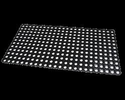 Коврик грязезащитный резиновый с отверстиями Домино, толщина 16 мм - фото 15220