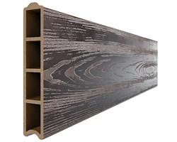 Доска для грядок из ДПК 1 метр, высота 0,155 м - фото 16741