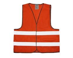 Жилет сигнальный оранжевый 3XL Стандарт - фото 17135