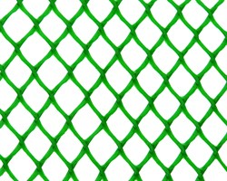 Садовая сетка для клумбы Ф-7, 0,4*10 м, зеленая - фото 17340