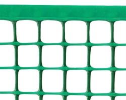 Пластиковая сетка для палисадника Ф-24, 0,5*10 м, хаки-зеленая - фото 17344