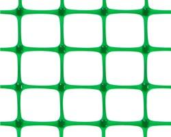 Пластиковая сетка садовая ЗР-15, 1*20 м, лесной зеленый - фото 17359