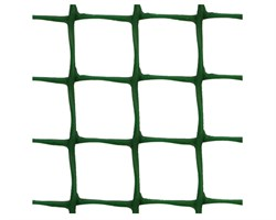 Пластиковая сетка садовая СР-15, 1*20 м, хаки - фото 17374