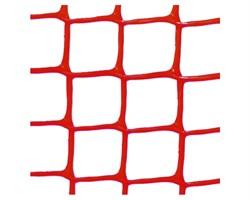 Пластиковая сетка садовая СР-15, 1*20 м, красная - фото 17388