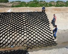 Георешетка полимерная объемная ОР 15 СНО высотой 150 мм, размер ячейки 410х410 мм