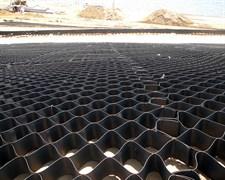 Георешетка полимерная объемная ОР 20 СНО высотой 200 мм, размер ячейки 410х410 мм