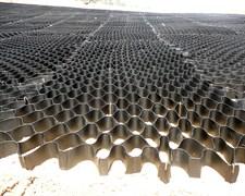 Георешетка полимерная объемная ОР 20 СН высотой 200 мм, размер ячейки 410х410 мм