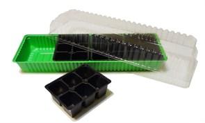 Мини-парник 24 ячейки (4 вставки)