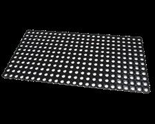 Коврик грязезащитный резиновый с отверстиями Домино, толщина 16 мм