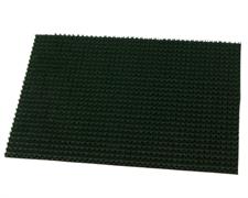 Коврик грязезащитный щетинистый Травка, толщина 10 мм