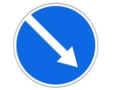Маска для буфера дорожного 4.2.1 (одна стрелка)
