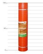 оранжевая сетка в рулоне