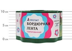 Лента садовая бордюрная Гофра Б-10/9 хаки 9 см х 9 м