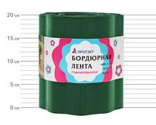 Лента садовая бордюрная Гофра Б-20/9 хаки 19 см х 9 м