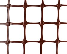 Пластиковая сетка садовая ЗР-15, 1*20 м, коричневая