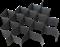 Георешетка полимерная объемная ОР 20 СН высотой 200 мм, размер ячейки 160х160 мм - фото 13202